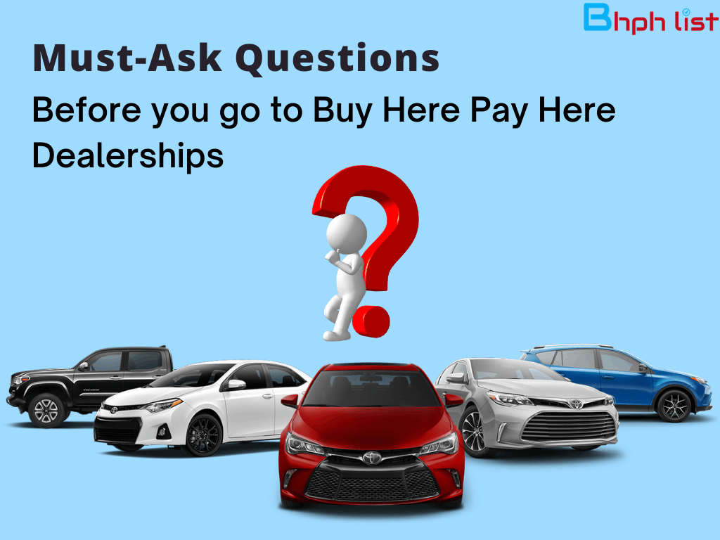 buy here pay here dealerships